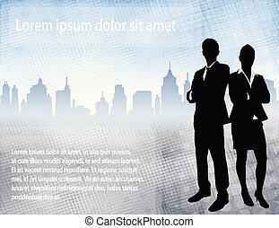 urbano, empresa / negocio, espacio, texto, encima, gente, plano de fondo