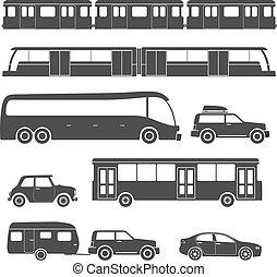 urbano, isolado, cobrança, fundo, veículo, branca