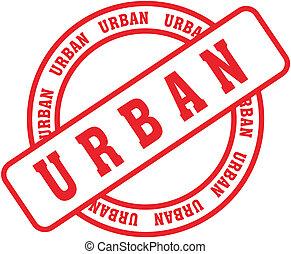 urbano, parola, stamp5