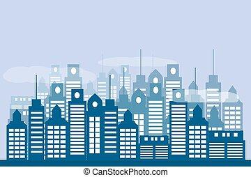 urbano, plano de fondo