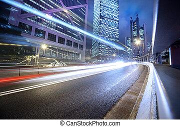 urbano, transporte, plano de fondo