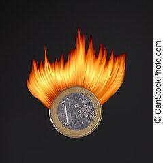 urente, moneta, euro