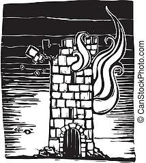 urente, torre