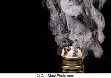 urente, vaporizing, aggeggio, cigarette., e-cig, glicerina,...