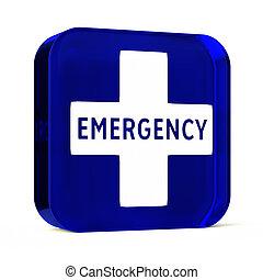 urgence, monde médical, services