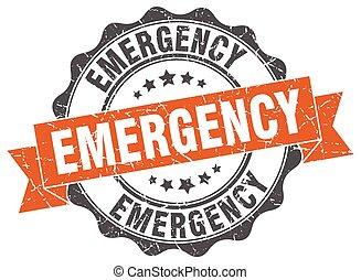 urgence, stamp., signe., cachet