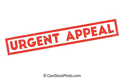 Urgent Appeal rubber stamp