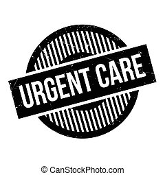Urgent Care rubber stamp