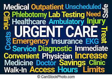 Urgent Care Word Cloud