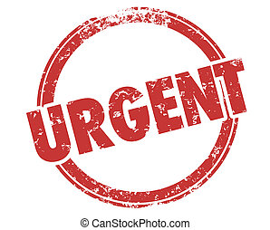 Urgent Important Act Now Stamp Word Illustration
