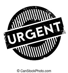 Urgent rubber stamp. Grunge design with dust scratches....