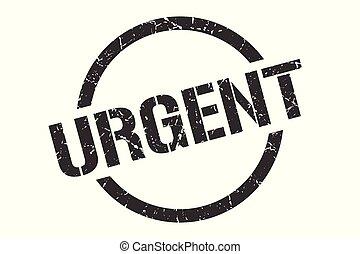 urgent stamp