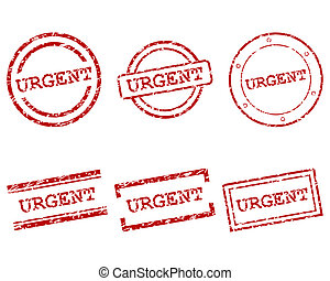 Urgent stamps