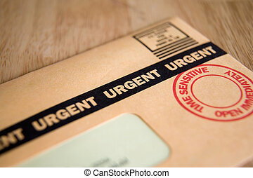 URGENT - Urgent, Time Sensitive, Junk mail or bill