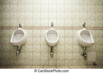 Urinals for men