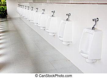 Urinals in Thailand