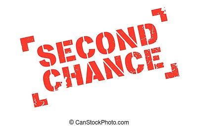 urkundenstempel, sekunde, chance
