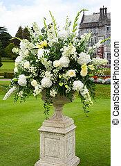 opulent bouquet of flowers - urn of opulent bouquet of ...