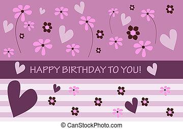 urodzinowa karta