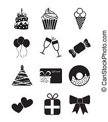urodziny, ikony