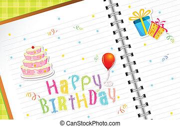 urodziny, pamiętnik