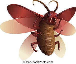 urojony, owad