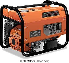 urokkelige, generator magt