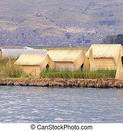 Uros islands.