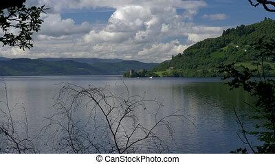 Urquhart Castle, Loch Ness, Scotland - Native Version -...