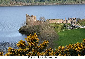 Urquhart castle Loch Ness Scotland
