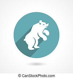 urso, ícone