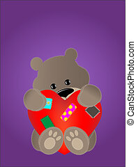 urso, pelúcia
