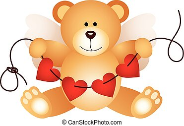 urso teddy, cupid
