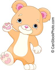 urso teddy, walks.eps
