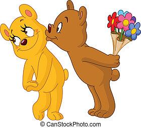 ursos, amando