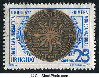 First Coin of Uruguay