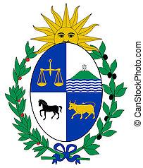 Uruguay Coat of Arms - Uruguay coat of arms, seal or ...