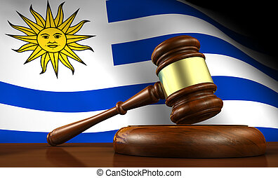 Uruguay Law Legal System Concept