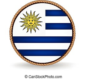 Uruguay Seal - Flag seal of Uruguay.