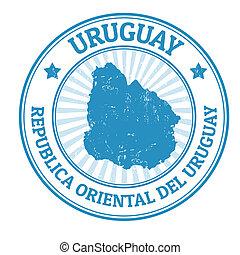 Uruguay stamp