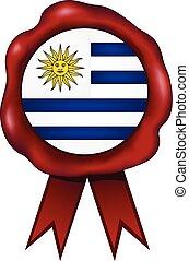 Uruguay Wax Seal - Uruguay wax seal.