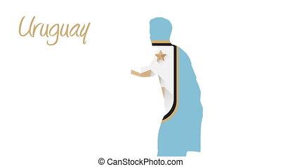 Uruguay world cup 2014 animation wi - Uruguay world cup 2014...