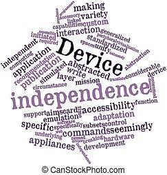 urządzenie, niezależność