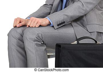 usługiwanie, garnitur, obsadzać posiedzenie
