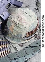 US Army in Vietnam - Vietnam war period concept