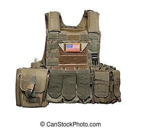 U.S. Army tactical bulletproof vest