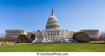 US Capitol Building in Washington DC - US Capitol Building...