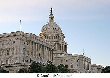 U.S. Capitol in Morning