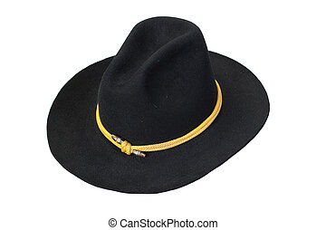 US Cavalry hat isolated