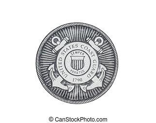 U.S. Coast Grard official seal - U.S. Coast Guard official...